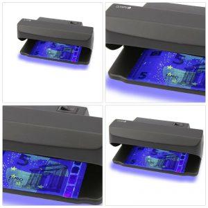 test détecteur de faux billets Olympia UV 585